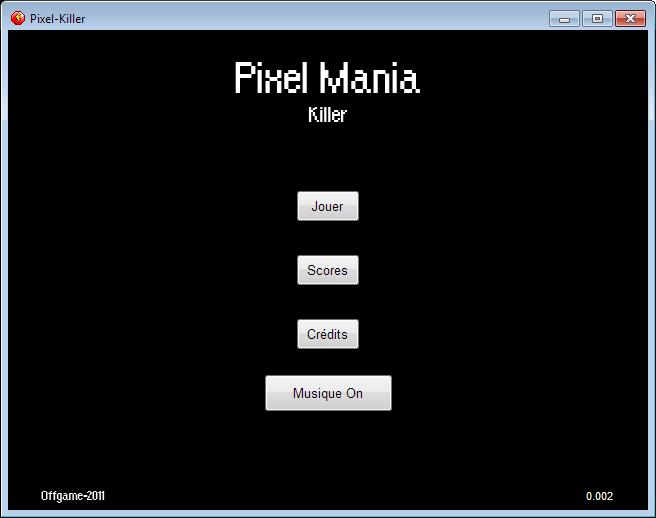 [flash] Pixel Mania : Killer Pmk