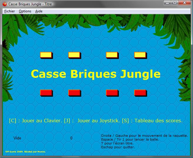 Jeux Apérifif de Monos Cassebriquetitre