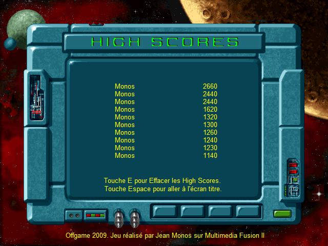 Jeux Apérifif de Monos Scores